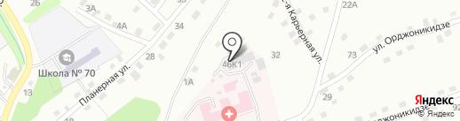 Хоспис на карте Прокопьевска