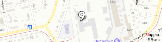 Трамвайное депо №1 на карте Прокопьевска