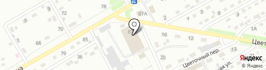 Техцентр на карте Киселёвска