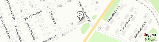 Феафэ на карте Киселёвска