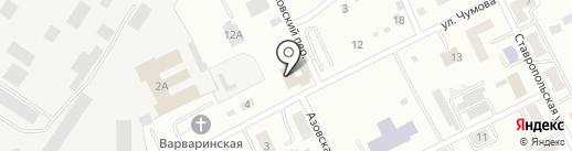 Сапфир на карте Киселёвска