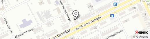 Салон по ремонту сотовых телефонов на карте Киселёвска