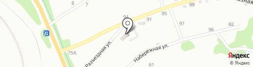 На Разъездной на карте Киселёвска