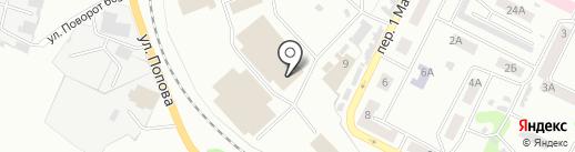 СпортТоварищ на карте Киселёвска