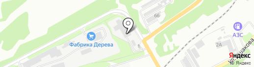 Мега-Н на карте Киселёвска