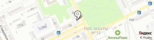АРХ-ПРОЕКТ на карте Киселёвска