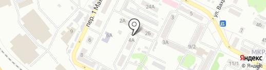 Всероссийское общество глухих на карте Киселёвска