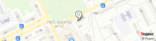 Мясной магазин на карте Киселёвска