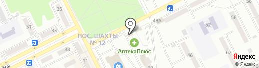 Лотос на карте Киселёвска