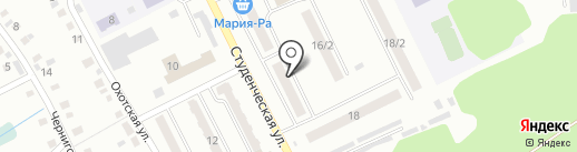 Магазин автотоваров на карте Киселёвска