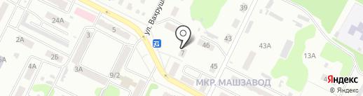 Магазин упаковочных материалов на карте Киселёвска