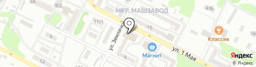 Мария-Ра на карте Киселёвска