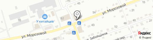 Кенгу 24 на карте Прокопьевска