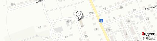 Почтовое отделение №26 на карте Прокопьевска