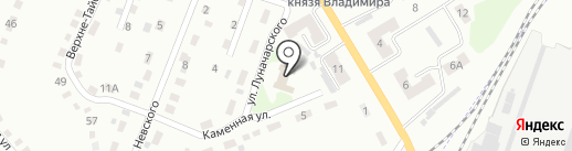 Путь преодоления на карте Киселёвска