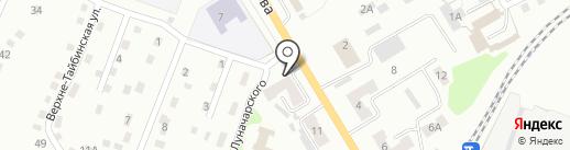 Мирополь на карте Киселёвска