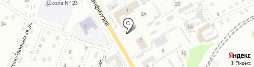 Храм-часовня в честь равноапостольного Князя Владимира на карте Киселёвска