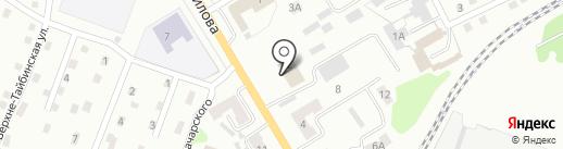 ГСД на карте Киселёвска
