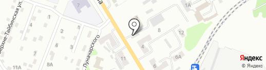 Шашлычный Дворик на карте Киселёвска