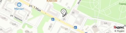 Агентство недвижимости на карте Киселёвска