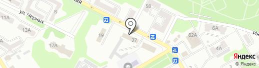 Отдел вневедомственной охраны УВД по г. Киселёвску на карте Киселёвска