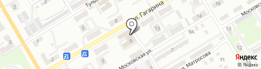 Грездов К.А. на карте Киселёвска