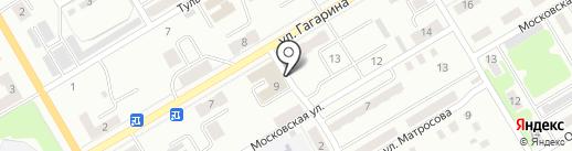 Автоцентр на карте Киселёвска