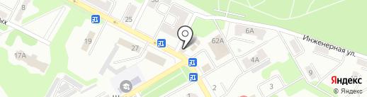 Киоск по продаже цветов на карте Киселёвска