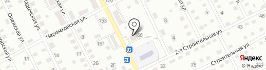 Красильникова Е.В. на карте Прокопьевска