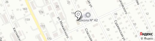 Салон-парикмахерская на карте Прокопьевска