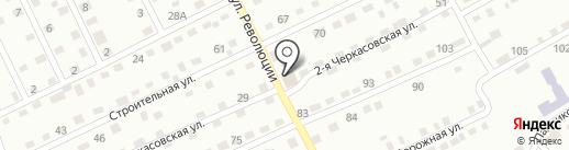 Катенька на карте Прокопьевска