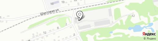 Батончик на карте Прокопьевска