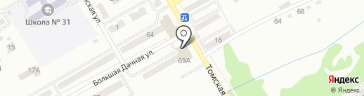 Мир антенн на карте Киселёвска