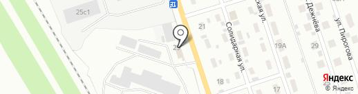 Диол-Е на карте Прокопьевска