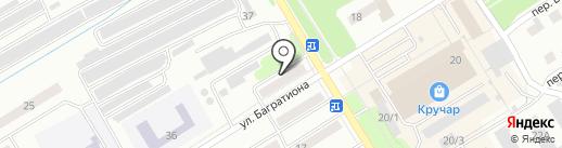 Ника на карте Киселёвска