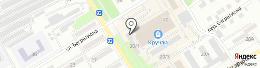 Сбербанк России на карте Киселёвска