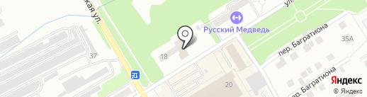 БЕГЕМОТиК на карте Киселёвска
