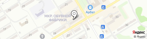 Магазин детской одежды и игрушек на карте Киселёвска