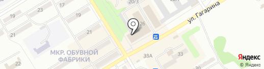 Автомойка на карте Киселёвска
