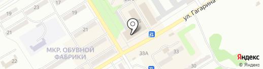 Огородник на карте Киселёвска
