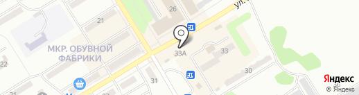 Лада на карте Киселёвска