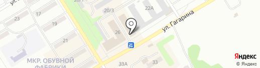 Школа-студия красоты Суходоловой Евгении на карте Киселёвска