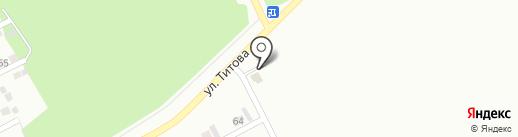 С888ТО на карте Киселёвска
