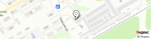 Автомеханик на карте Киселёвска