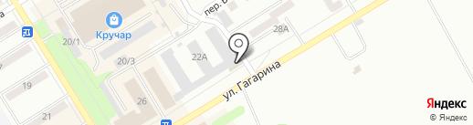 Биг Бен на карте Киселёвска