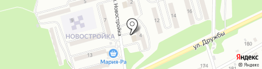Новосибирская птицефабрика-Новокузнецк на карте Киселёвска