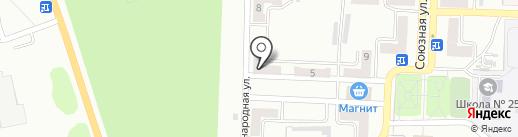 Клеопатра на карте Прокопьевска