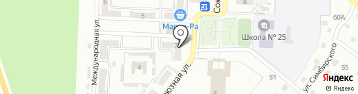 Люкс-М на карте Прокопьевска