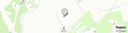 Почтовое отделение №8 на карте Прокопьевска