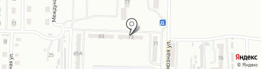 ЕСТ на карте Прокопьевска